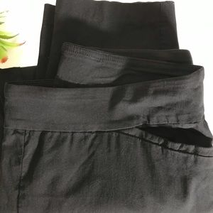 Terra & Sky Color Black Soot Pants Size 1X 16W-18W